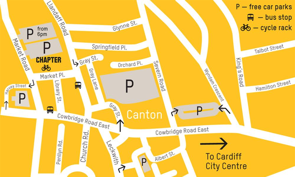Map of Canton