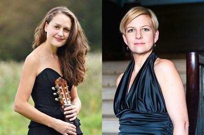 Amanda Cook and Bibi Heal: Guitar and Voice