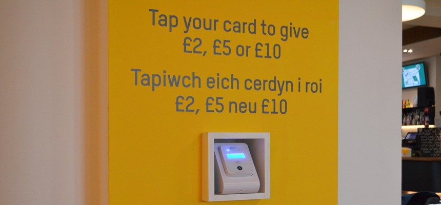 Contactless donations – a new way to support Chapter